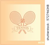 tennis icon | Shutterstock .eps vector #572746348