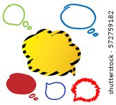 vector illustration   hand... | Shutterstock .eps vector #572759182