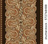 Paisley Seamless vintage vector Pattern