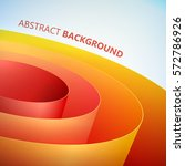 abstract clean template with...   Shutterstock .eps vector #572786926