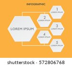 infographic design template and ... | Shutterstock .eps vector #572806768