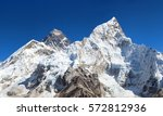View Of Top Of Mount Everest...