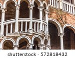 Venice  Exterior Detail Of The...