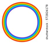Simple 7 Color Rainbow Element