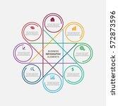 infographics elements design | Shutterstock .eps vector #572873596