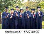 education  graduation and... | Shutterstock . vector #572918605