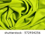 Crumpled Neon Green Textured...