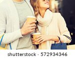 sale  consumerism and people...   Shutterstock . vector #572934346