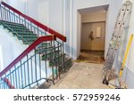 stairs and ladder are  the part ... | Shutterstock . vector #572959246