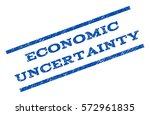 economic uncertainty watermark...   Shutterstock .eps vector #572961835