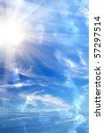 sunrise  sun  sky  sea | Shutterstock . vector #57297514