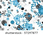 abstract illustration of black... | Shutterstock . vector #57297877