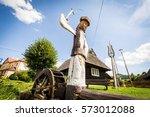 podbiel  slovakia   august 2 ... | Shutterstock . vector #573012088