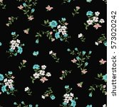 seamless floral pattern in... | Shutterstock .eps vector #573020242