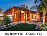 custom built california rustic... | Shutterstock . vector #573034582
