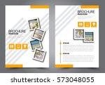 business brochure template.... | Shutterstock .eps vector #573048055