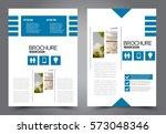 business brochure template.... | Shutterstock .eps vector #573048346