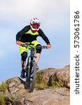 professional cyclist riding the ...   Shutterstock . vector #573061786