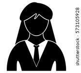 vector illustration of lady... | Shutterstock .eps vector #573105928
