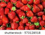 fresh strawberry background.   Shutterstock . vector #573128518