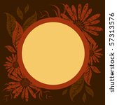 vector background with frame... | Shutterstock .eps vector #57313576