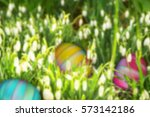 Happy Easter Abstract Holiday...