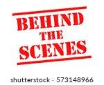 behind the scenes red rubber... | Shutterstock . vector #573148966