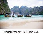 beach thailand | Shutterstock . vector #573155968