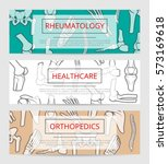 healthcare  orthopedics and...   Shutterstock .eps vector #573169618