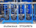 large industrial water... | Shutterstock . vector #573169876