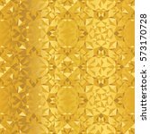 Vector Golden Foil Abstract...