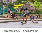 editorial use only  skate... | Shutterstock . vector #573189142