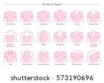 vector illustration set of... | Shutterstock .eps vector #573190696