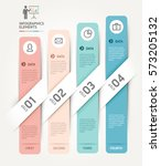 business infographics elements... | Shutterstock .eps vector #573205132
