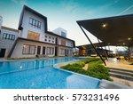 port dickson  malaysia   feb 05 ... | Shutterstock . vector #573231496