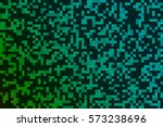 digital abstract green and... | Shutterstock .eps vector #573238696