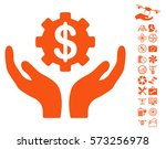 maintenance price pictograph... | Shutterstock .eps vector #573256978