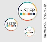modern circular infographics of ... | Shutterstock .eps vector #573271252