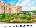versailees  france  july 02 ... | Shutterstock . vector #573297718