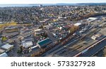 city of everett washington... | Shutterstock . vector #573327928