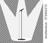 microphone  microphone icon ... | Shutterstock .eps vector #573342172