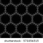 ornamental seamless pattern.... | Shutterstock .eps vector #573356515