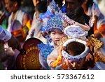 bagan  myanmar   january 20 ... | Shutterstock . vector #573367612