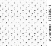 hand drawn seamless pattern... | Shutterstock .eps vector #573368146