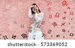 astrology  twelve zodiac signs | Shutterstock . vector #573369052