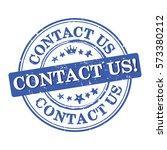 contact us   label    sticker   ... | Shutterstock .eps vector #573380212