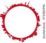 ring of japan   Shutterstock .eps vector #573382996