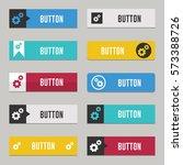 modern web buttons flat design... | Shutterstock .eps vector #573388726