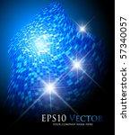 blue fantasy background  ...   Shutterstock .eps vector #57340057