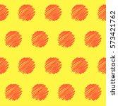 abstract doodle. handmade... | Shutterstock . vector #573421762